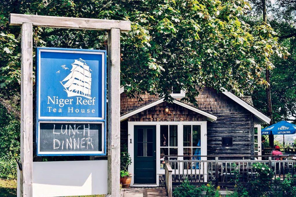 Niger Reef Tea House