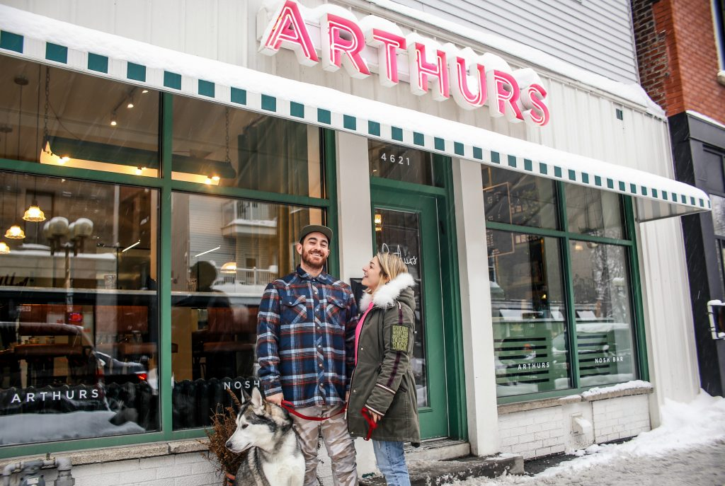 Arthurs Nosh Bar exterior