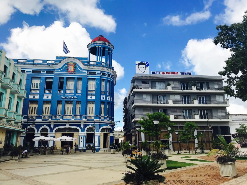 A public square in Camaguey.