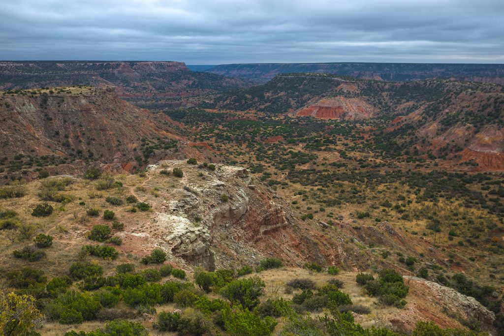 Palo Duro Canyon in Texas.