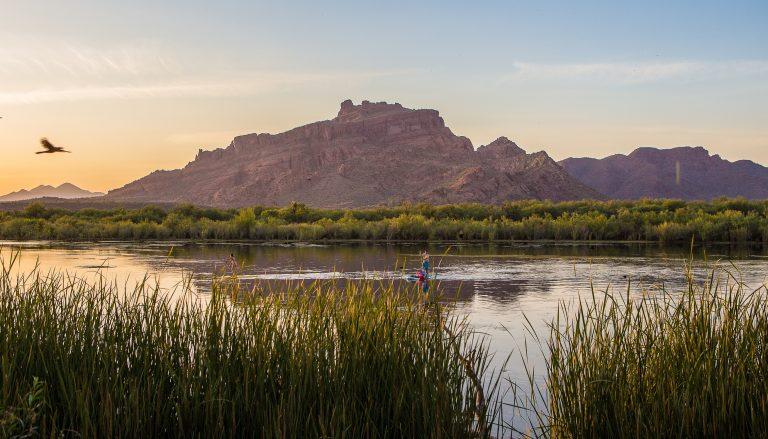 Mesa, Arizona's Salt River