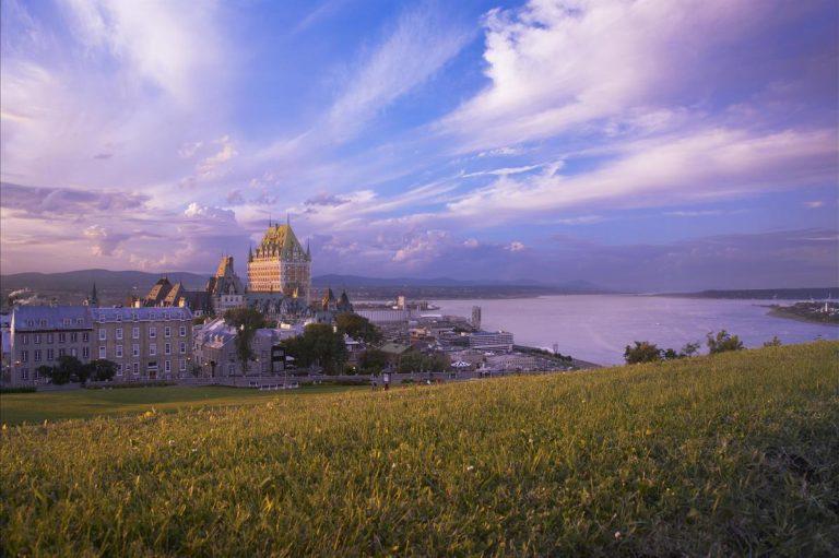 The Fairmont Le Château Frontenac in Quebec City