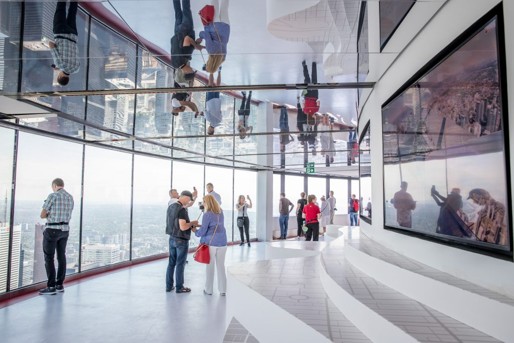 Window Walls at the CN Tower