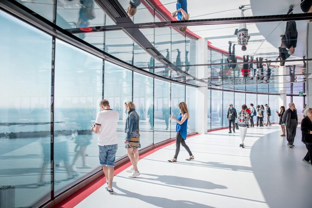 New Window Walls at the CN Tower
