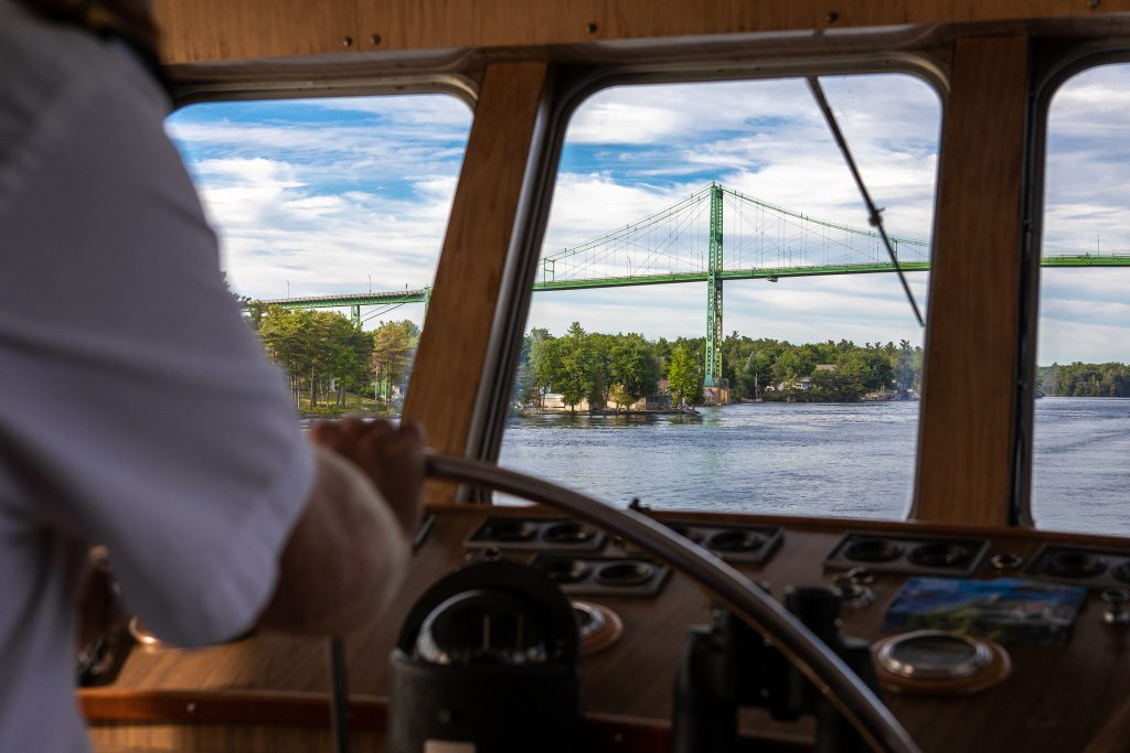 St. Lawrence river cruise gananoque boat lines