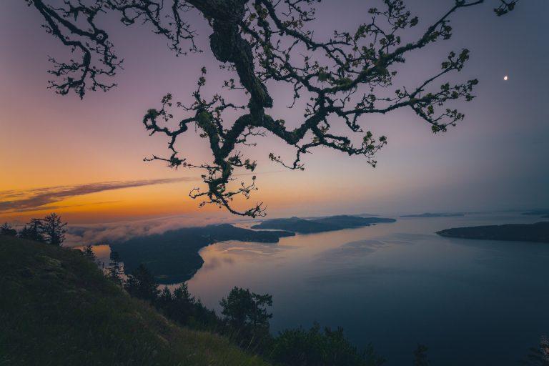 Sunrise Mount Galiano Southern Gulf Islands