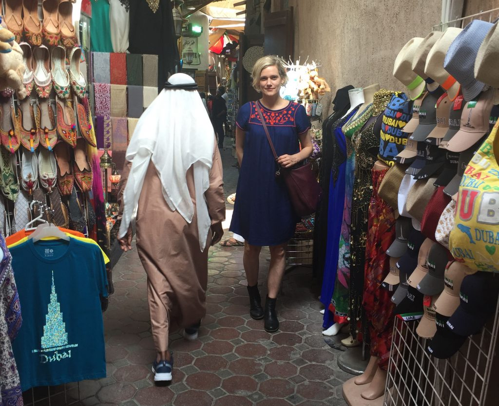 Heather O'Neill in Dubai
