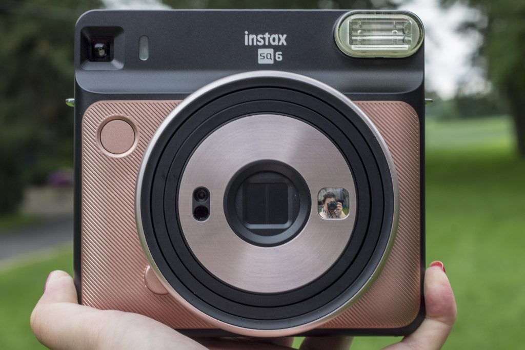 Instax Square SQ6 in rose gold