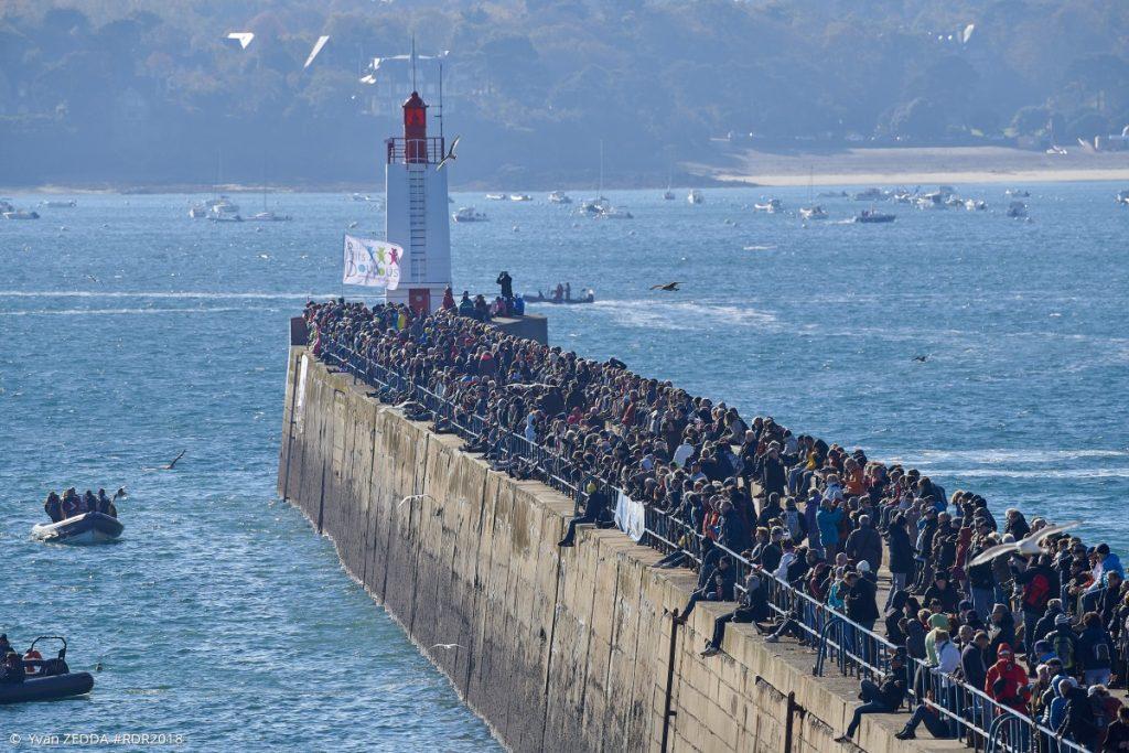 Route du Rhum, spectators, France, sailing, Saint-Malo