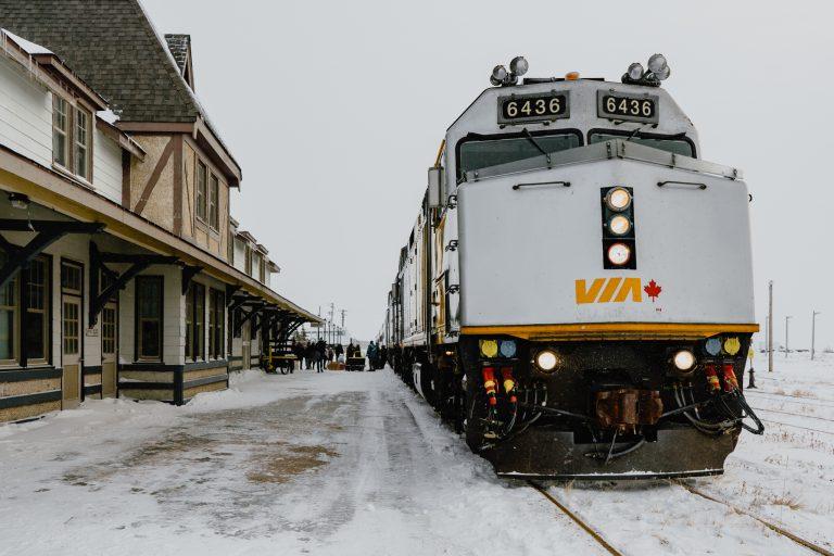 Via Rail, train station, Churchill