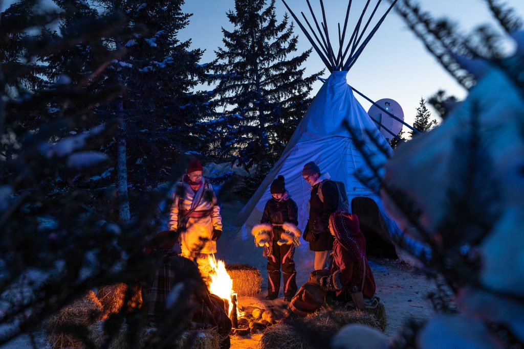 Festival du Voyageur, Winnipeg, winter, French culture