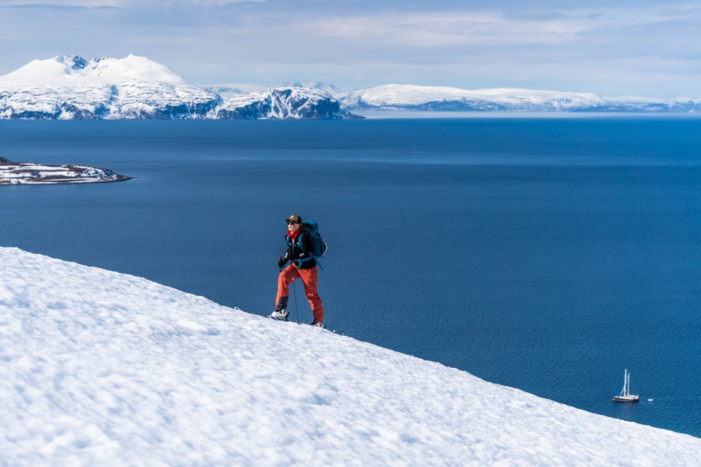 Norway, Finnmark, sailing, spring skiing, Kaylin Richardson