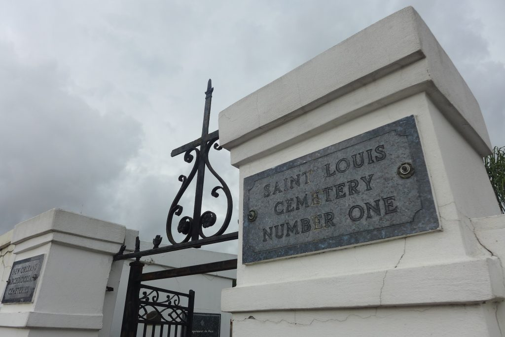 New Orleans' St. Louis Cemetery No. 1