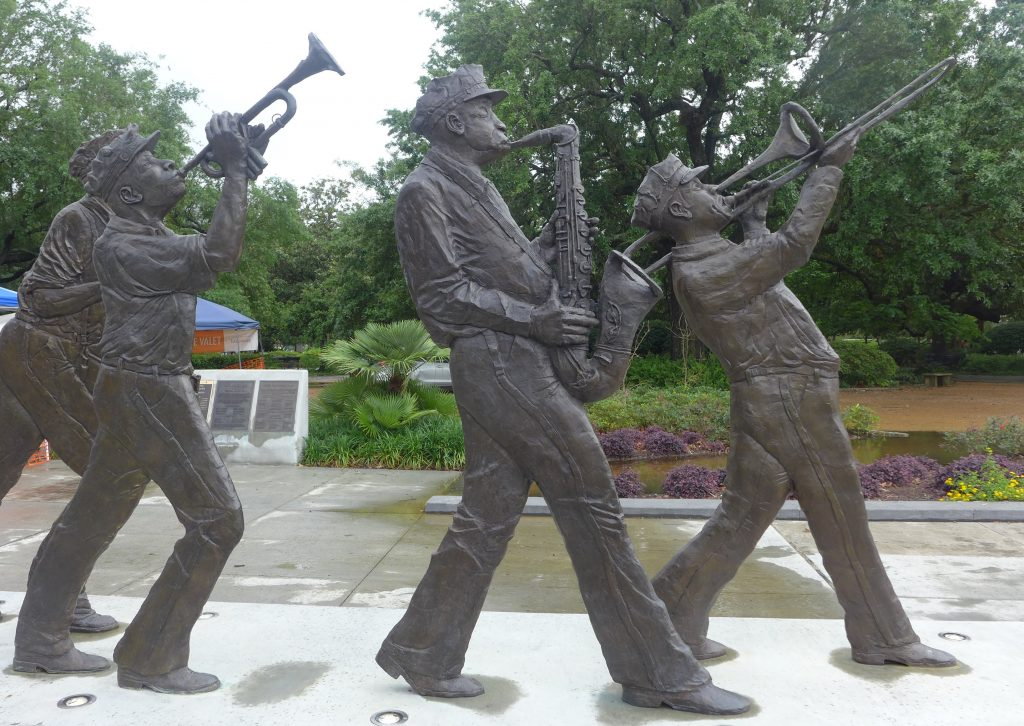 Louis Armstrong Park, New Orleans, jazz