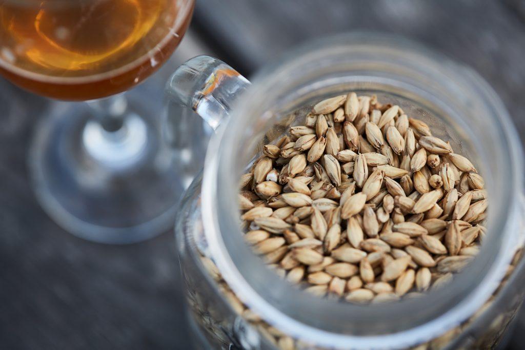 Smoked malt, À l'abri de la Tempête brewery, beer, Magdalen Islands