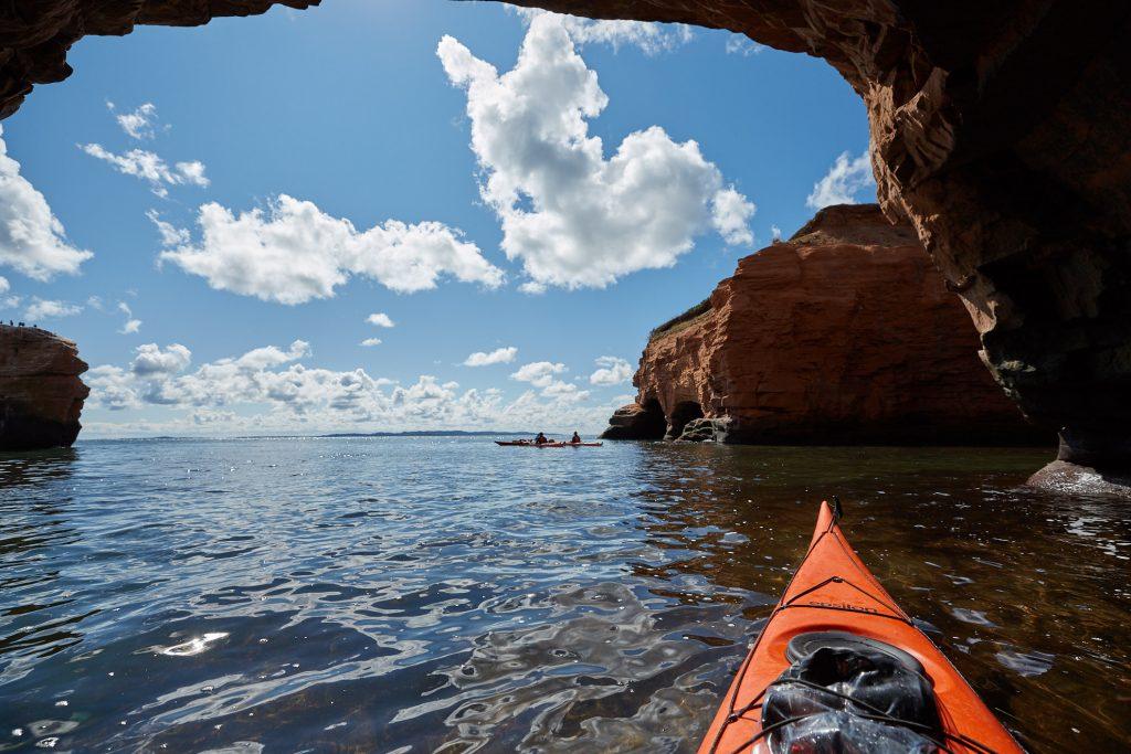 Kayaking, Parc du Gros Cap, Île du Cap aux Meules, Magdalen Islands