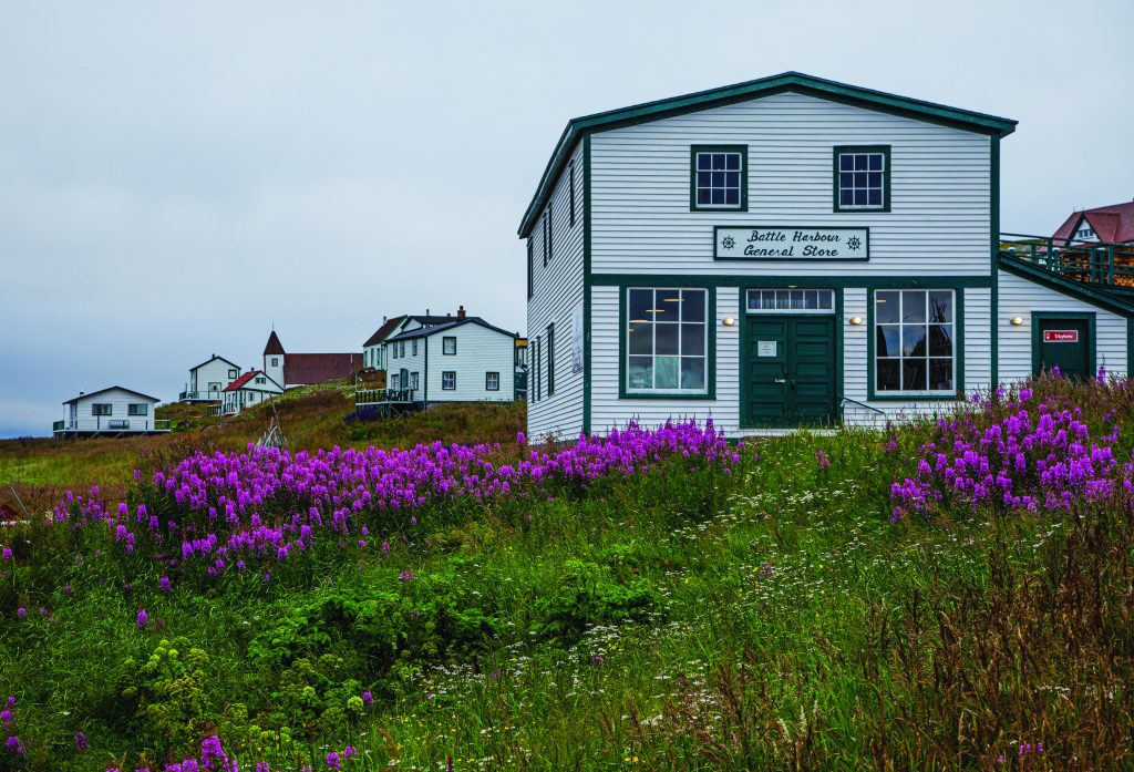 General store of Battle Harbour