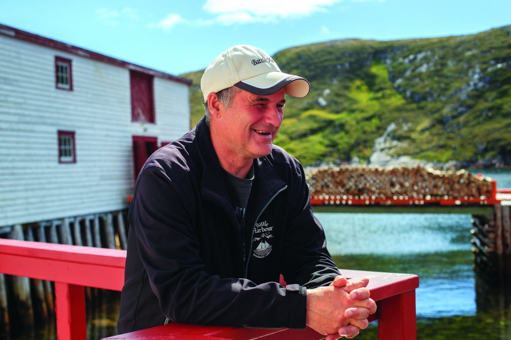 A Battle Harbour guide, Nelson Smith