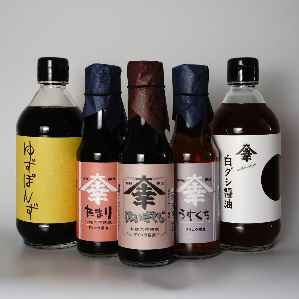 Tokusen soy sauce